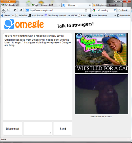 omegle without camera